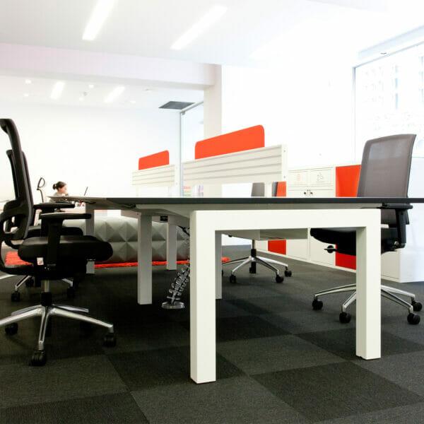 Work 2 Cantilevered Bench Desk