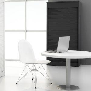 Vertical Tambour Office Cupboards