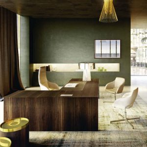 Vogue Rectangular Executive Desk
