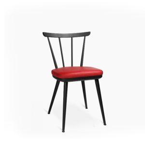 W-1960 Alu chair in black