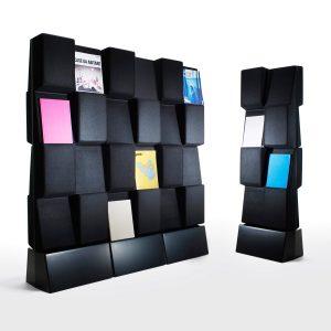 Window Magazine Display Stand